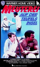 I Escaped from Devil's Island - German VHS cover (xs thumbnail)