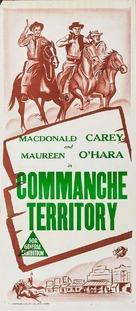 Comanche Territory - Australian Movie Poster (xs thumbnail)