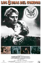 Three Days of the Condor - Spanish Movie Poster (xs thumbnail)