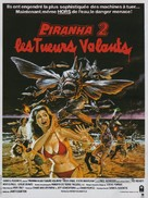Piranha Part Two: The Spawning - French Movie Poster (xs thumbnail)