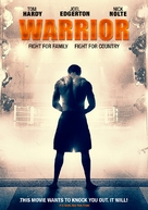 Warrior - DVD cover (xs thumbnail)