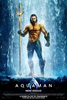 Aquaman - Czech Movie Poster (xs thumbnail)
