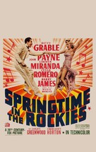 Springtime in the Rockies - Movie Poster (xs thumbnail)