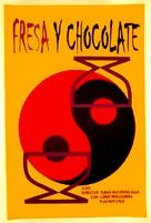 Fresa y chocolate - Cuban Movie Poster (xs thumbnail)