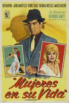 The George Raft Story - Argentinian Movie Poster (xs thumbnail)
