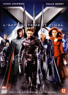 X-Men: The Last Stand - Belgian DVD movie cover (xs thumbnail)