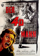 4D Man - German Movie Poster (xs thumbnail)