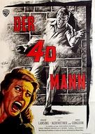 4D Man - German Movie Poster (xs thumbnail)