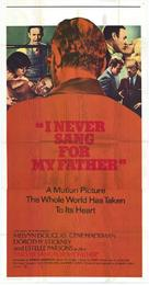 I Never Sang for My Father - Movie Poster (xs thumbnail)