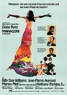 Mahogany - German Movie Poster (xs thumbnail)