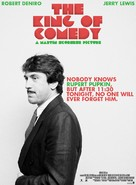 The King of Comedy - Movie Poster (xs thumbnail)