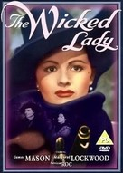 The Wicked Lady - British DVD cover (xs thumbnail)