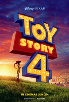 Toy Story 4 - Singaporean Movie Poster (xs thumbnail)