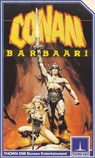 Conan The Barbarian - Finnish Movie Cover (xs thumbnail)