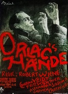 Orlacs Hände - German Movie Poster (xs thumbnail)