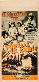 So Proudly We Hail! - Italian Movie Poster (xs thumbnail)
