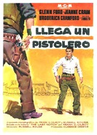 The Fastest Gun Alive - Spanish Movie Poster (xs thumbnail)