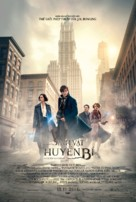 Fantastic Beasts and Where to Find Them - Vietnamese Movie Poster (xs thumbnail)