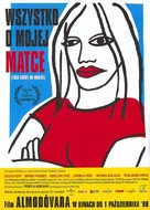 Todo sobre mi madre - Polish Movie Poster (xs thumbnail)