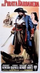 Blackbeard, the Pirate - Italian Movie Poster (xs thumbnail)