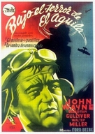 The Shadow of the Eagle - Spanish Movie Poster (xs thumbnail)