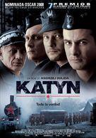 Katyn - Spanish Movie Poster (xs thumbnail)