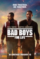 Bad Boys for Life - Australian Movie Poster (xs thumbnail)
