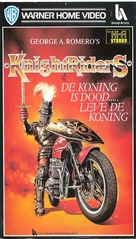 Knightriders - Dutch VHS movie cover (xs thumbnail)