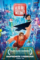 Ralph Breaks the Internet - Swedish Movie Poster (xs thumbnail)