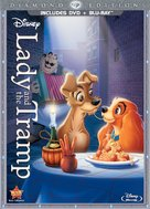 Lady and the Tramp - Blu-Ray movie cover (xs thumbnail)