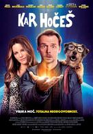 Absolutely Anything - Slovenian Movie Poster (xs thumbnail)