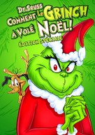 How the Grinch Stole Christmas! - French DVD movie cover (xs thumbnail)