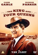 The King and Four Queens - British DVD cover (xs thumbnail)