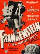 Frankenstein - Cuban Movie Poster (xs thumbnail)