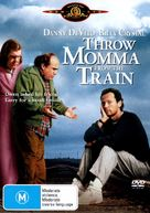 Throw Momma from the Train - Australian DVD movie cover (xs thumbnail)