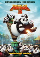 Kung Fu Panda 3 - Swedish Movie Poster (xs thumbnail)