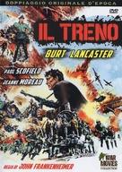 The Train - Italian DVD movie cover (xs thumbnail)