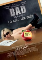 Bad Teacher - Vietnamese Movie Poster (xs thumbnail)