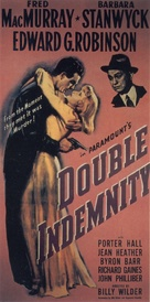 Double Indemnity - Theatrical poster (xs thumbnail)