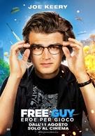 Free Guy - Italian Movie Poster (xs thumbnail)