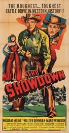 The Showdown - Movie Poster (xs thumbnail)