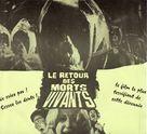 El ataque de los muertos sin ojos - French Movie Poster (xs thumbnail)