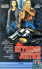 Extreme Justice - German Movie Cover (xs thumbnail)