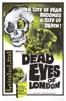 Die toten Augen von London - Movie Poster (xs thumbnail)