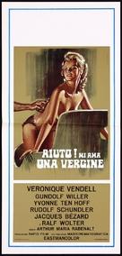 Hilfe, mich liebt eine Jungfrau - Italian Movie Poster (xs thumbnail)