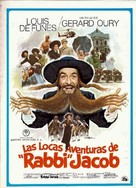 Les aventures de Rabbi Jacob - Spanish Movie Poster (xs thumbnail)
