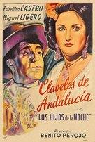Los hijos de la noche - Spanish Movie Poster (xs thumbnail)