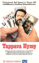 I quattro dell'Ave Maria - Finnish VHS movie cover (xs thumbnail)