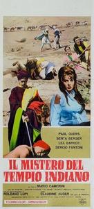 Il mistero del tempio indiano - Italian Movie Poster (xs thumbnail)