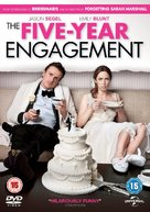 The Five-Year Engagement - British DVD movie cover (xs thumbnail)
